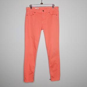 Gap legging jeans with zipper details size 28 6